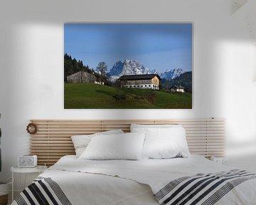 Alpen Landschaft von Heiko Obermair