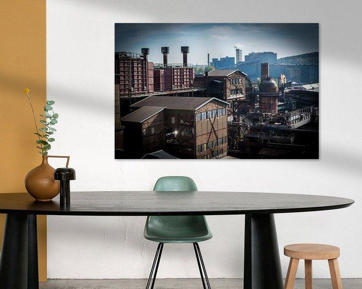 Sfeerimpressie: Sfeervol, romantisch industrieel landschap van Patrick Verhoef