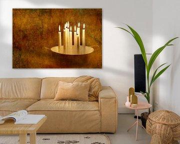 Kerzenromantik van Heike Hultsch