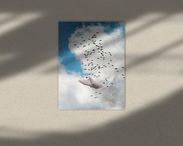Der Vogelflug von Heike Hultsch