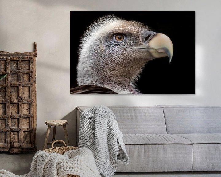Sfeerimpressie: Vale gier portret van Hermen van Laar