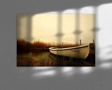 Fotografie Das Boot van Heike Hultsch