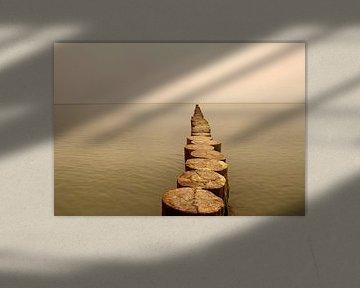 Der Weg ins Meer - 1- van Heike Hultsch