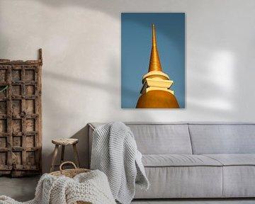 tempel op de top van een berg van Marcel Derweduwen