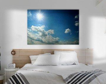 Sommerhimmel van Heike Hultsch