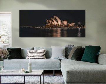Skyline von Sydney Opera House von Eveline Dekkers