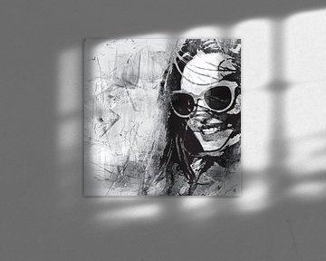 In sunny California - black and white von PictureWork - Digital artist