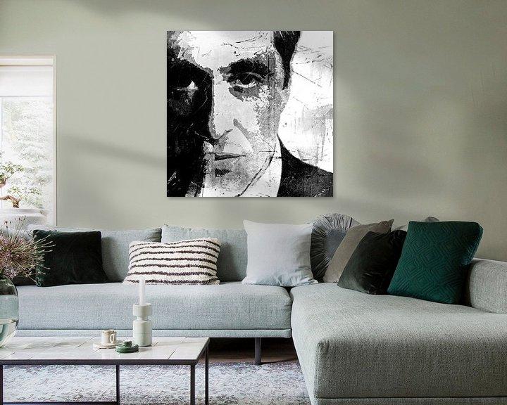 Beispiel: Al Pacino - The other Godfather - black and white von PictureWork - Digital artist