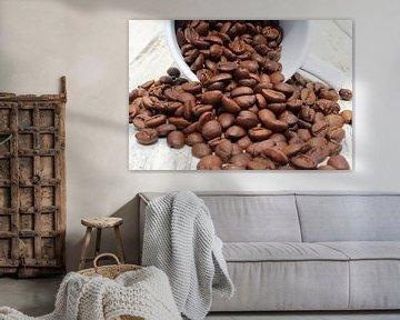 Kaffeebohnen van Heike Hultsch