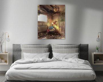 Abgelaufenes Hotelzimmer von Olivier Photography