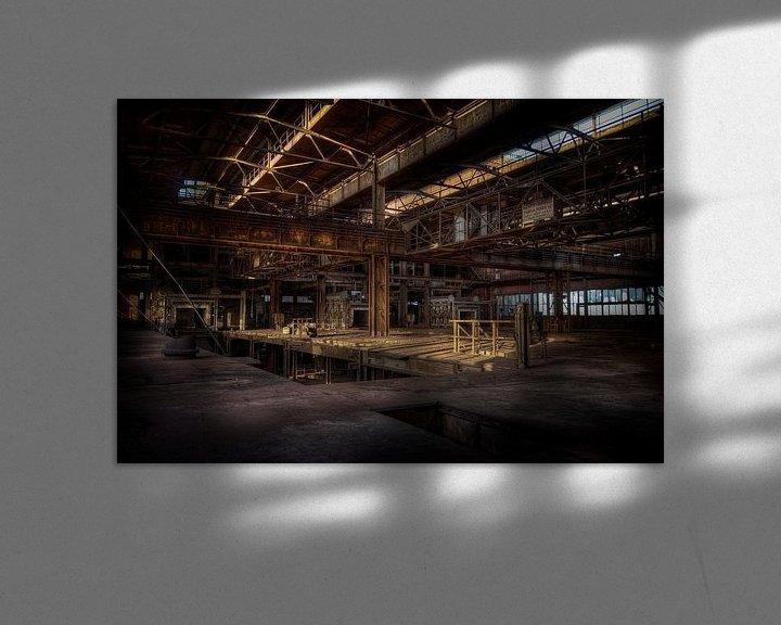 Sfeerimpressie: De verlaten sinterfabriek van Eus Driessen