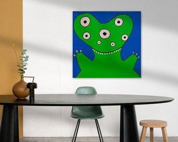 Groen Monstertje van Studio Fantasia