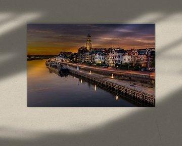 Zonsondergang in Deventer sur Patrick Rodink