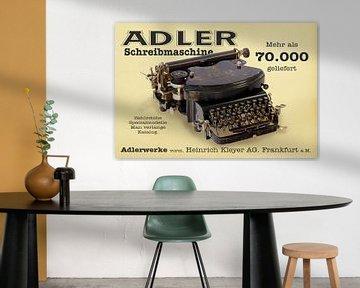 Schreibmaschine Adler Mod. 7 von Ingo Rasch