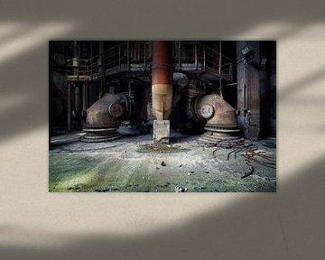 verlaten fabriek van Kristof Ven