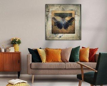 Becoming myself - vlinder von Studio Papilio