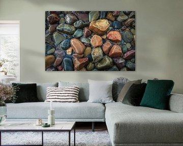 Kleurrijke stenen van Edwin Mooijaart