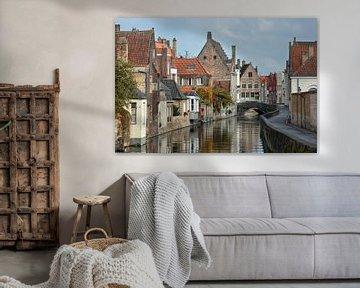 Oude stad van Brugge van Joachim G. Pinkawa
