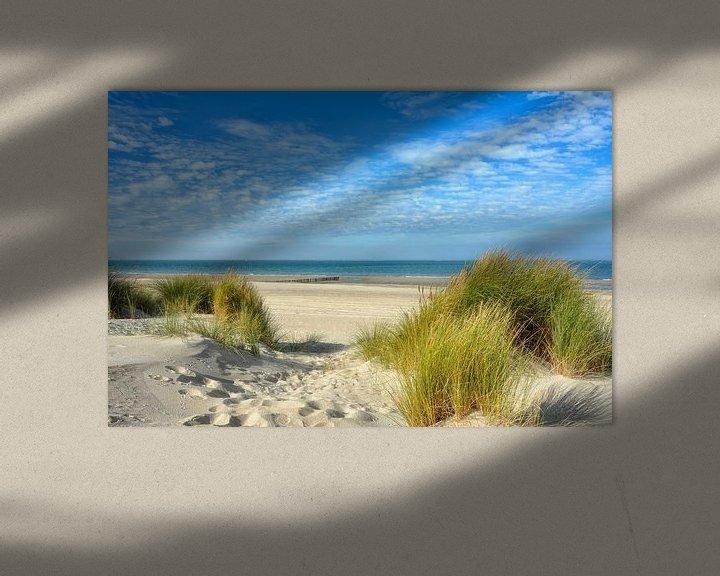 Beispiel: Nordseestrand Holland von Joachim G. Pinkawa