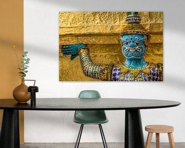 Thailand Grand Palace beeld drager van Edwin Mooijaart