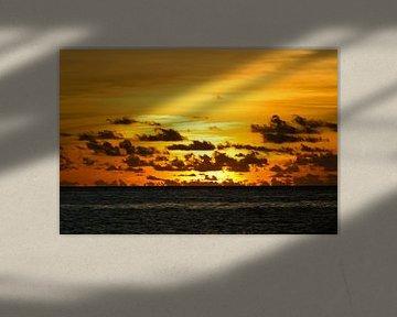 Zonsondergang van Martijn Smit