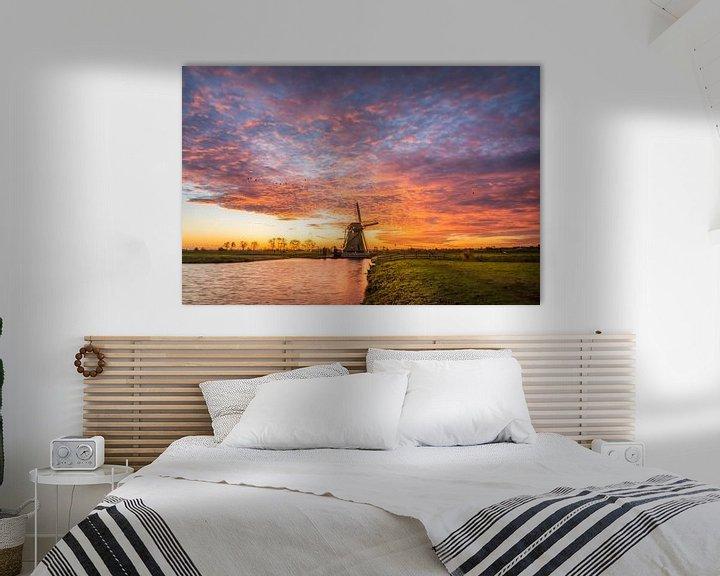 Sfeerimpressie: Sky on Fire van Martijn van der Nat