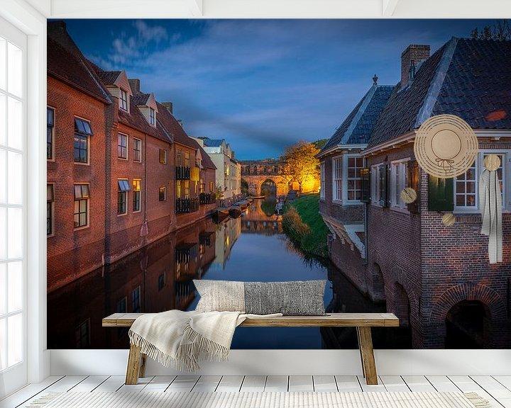 Sfeerimpressie behang: Berkelpoort, Zutphen van Jeroen Weideman