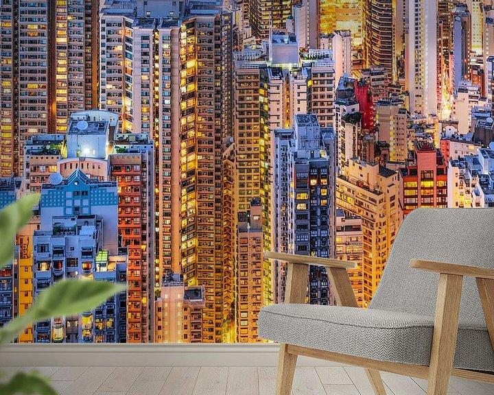 Beispiel fototapete: HONG KONG 34 von Tom Uhlenberg