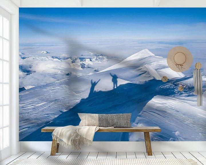 Impression: Au sommet de la montagne Denali en Alaska sur Menno Boermans