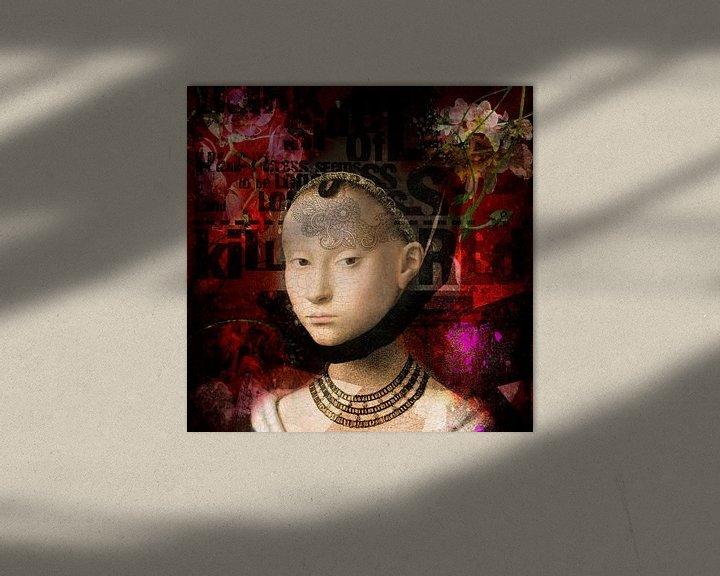 Sfeerimpressie: young woman 1470 van jejaka art