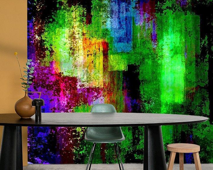 Beispiel fototapete: Colors all around von PictureWork - Digital artist