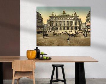 The Opera House, Paris van Vintage Afbeeldingen
