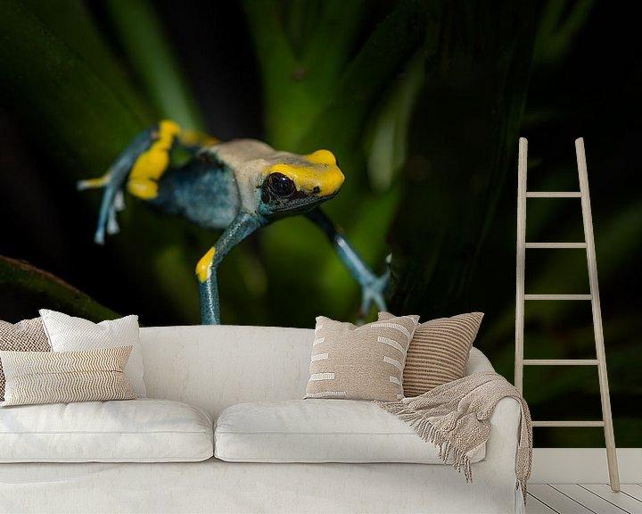Sfeerimpressie behang: hanging out van Desirée Couwenberg