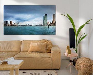 Cloudy Skyline Rotterdam