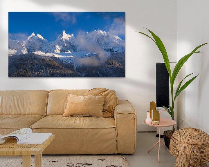 Beispiel: Aiguilles de Chamonix von Menno Boermans