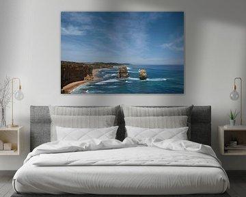 Les Douze Apôtres est une rangée de rochers sur la côte sud de l'Australie, dans la région du sur Tjeerd Kruse