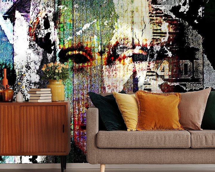 Beispiel fototapete: What was behind the Mona Lisa von PictureWork - Digital artist