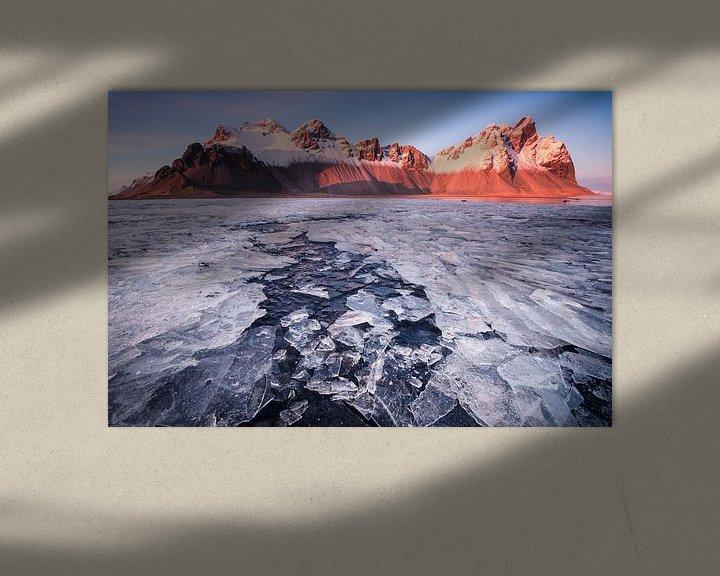 Sfeerimpressie: Ice Flow van Rudy De Maeyer