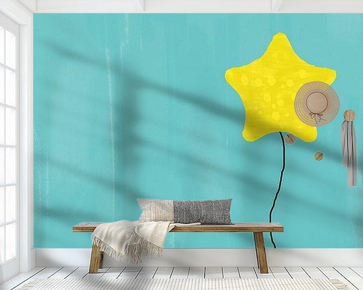 Beispiel fototapete: Sternengruß Bärli von Marion Tenbergen