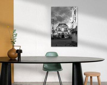 'Achter de Waag' in Gouda s / w von Remco-Daniël Gielen Photography
