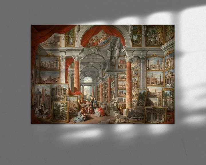 Beispiel: Modernes Rom, Giovanni Paolo Panini