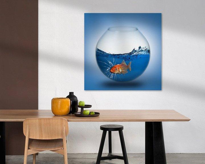 Beispiel: Der Goldfisch im Glas von Ursula Di Chito