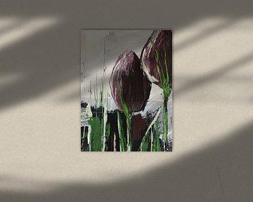 """Zwei """"Violettas"""" von Susanne A. Pasquay"""