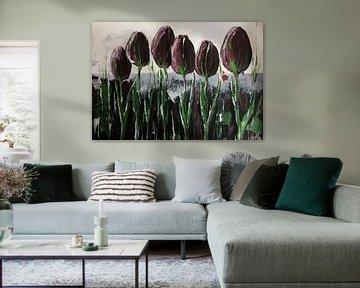 """""""Violettas"""" von Susanne A. Pasquay"""