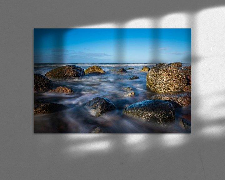 Beispiel: Steine an der Ostseeküste bei Warnemünde von Rico Ködder