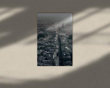 Bologna in zwart wit von Merel Tuk