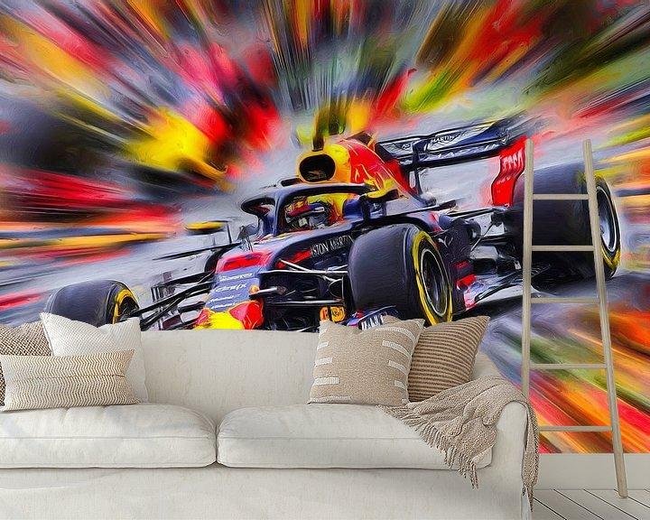 Beispiel fototapete: Max Verstappen - Rennfahrer von Jean-Louis Glineur alias DeVerviers