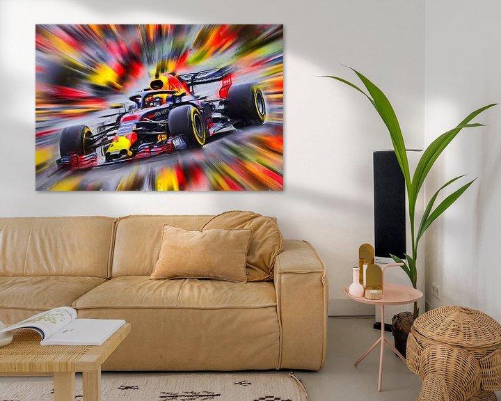 Beispiel: Max Verstappen - Rennfahrer von Jean-Louis Glineur alias DeVerviers