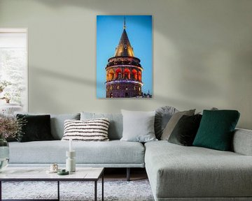 Galata Tower (Istanbul) van Ali Celik