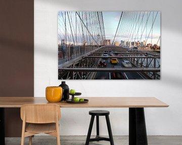 Brooklyn Bridge New York, USA von Ingrid Meuleman